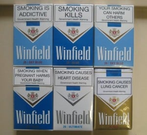 smoking warning labels