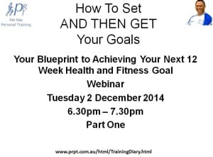 How To Set AND THEN GET Your Goals Pt 1