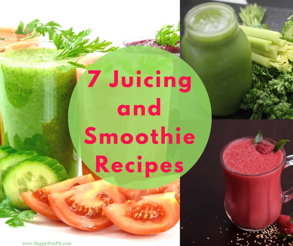 Juicing and smoothie recipes