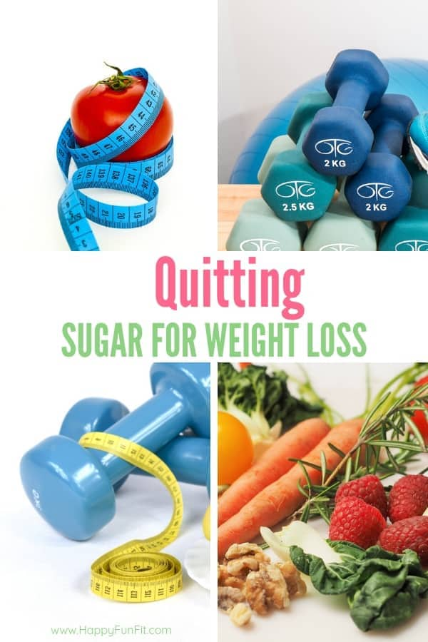 Quitting sugar for weight loss