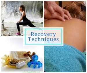 Recovery Techniques- stretching, massage
