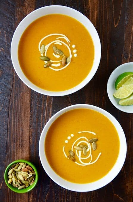 Not Just any Pumpkin soup this is so delicious Thai coconut Pumpkin Soup