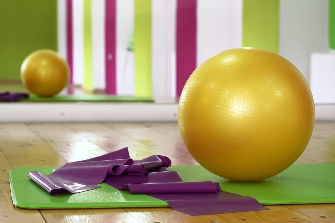 resistance training using resistance bands