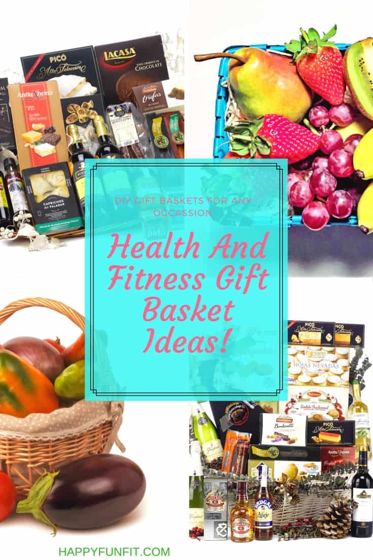 Best Health and Fitness Gift Baskets great for Birthdays, Christmas or just a Thank You.