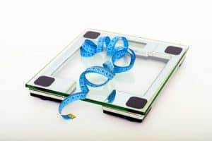 weight loss scales woo hoo 1.1 kgs down